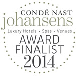 Johansens 2014 award finalist - serviced apartments london